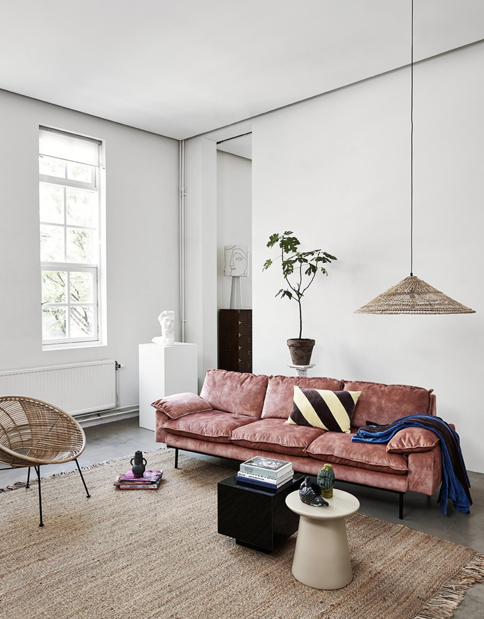Retro Sofa 4-zitsbank (9 kleuren/stoffen)