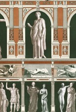 Behang Antiques Statues - 156 x 300 cm