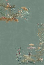 Mind the Gap Behang Chinoiserie Blue - 156 x 300 cm