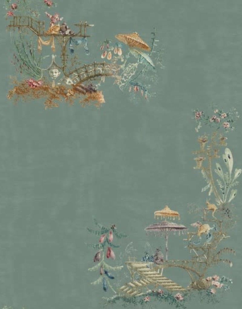 Behang Chinoiserie Blue - 156 x 300 cm