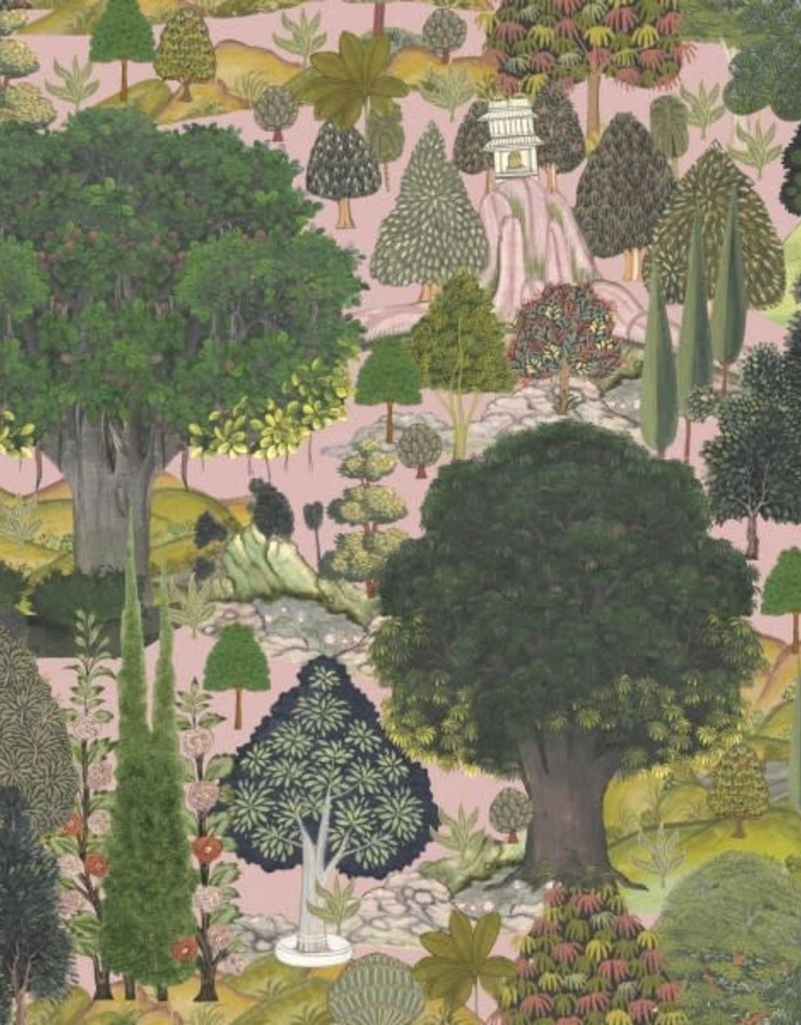 Behang Jardin Sauvage - 156 x 300 cm