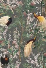 Behang Royal Garden Grey - 156 x 300 cm
