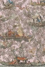 Mind the Gap Behang Journey to Eden pink - 156 x 300 cm