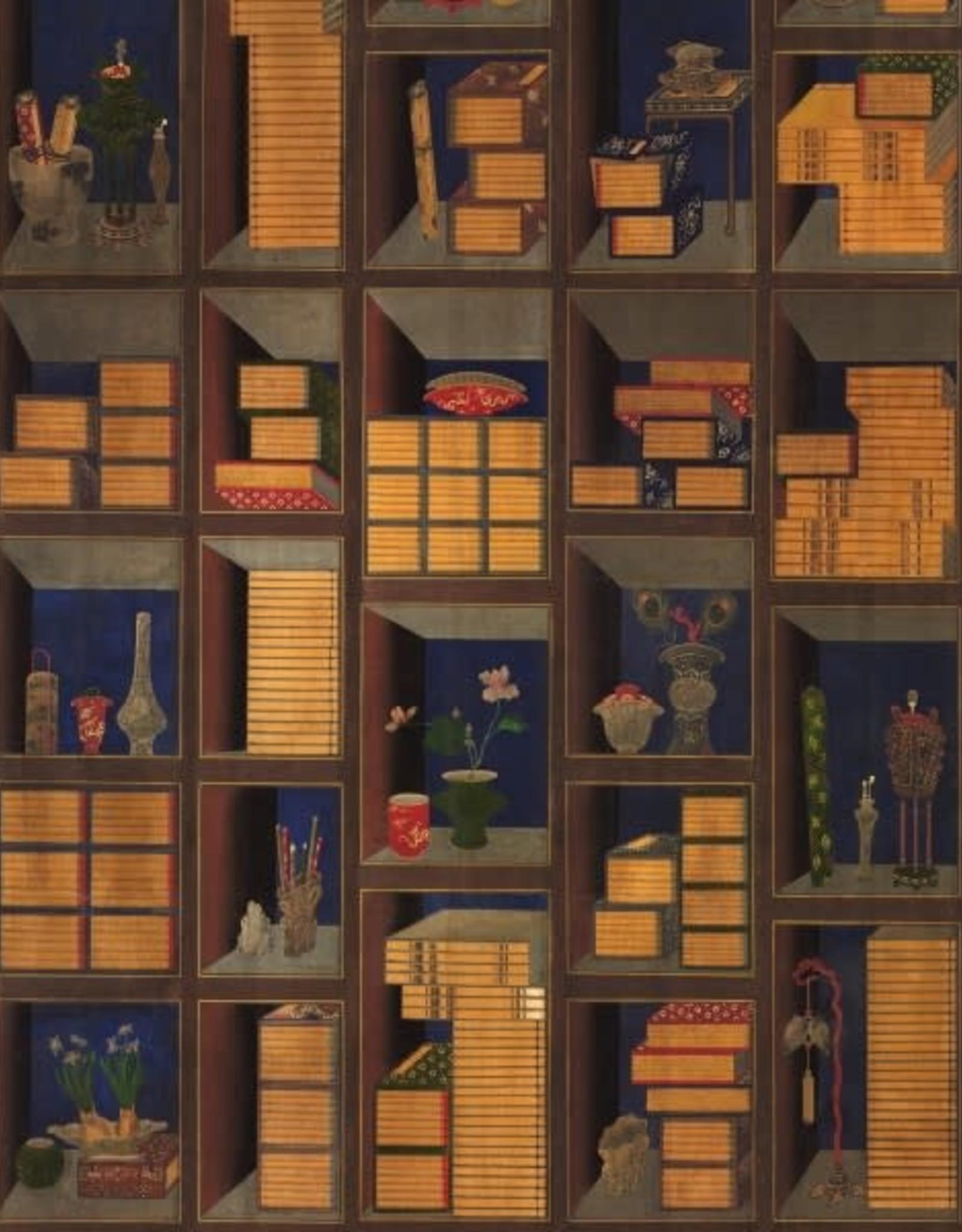 Mind the Gap Behang Korean Library - 156 x 300 cm