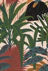 Behang Jardin Imaginario - 156 x 300 cm