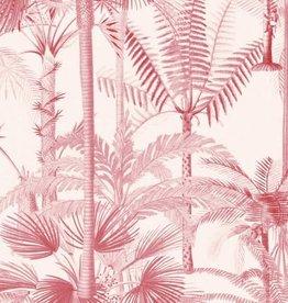 Behang Palmera Cubana Pink - 156 x 300 cm