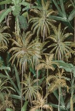 Behang The Jungle Dark - 156 x 300 cm