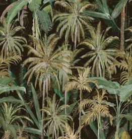 Mind the Gap Behang The Jungle Dark - 156 x 300 cm