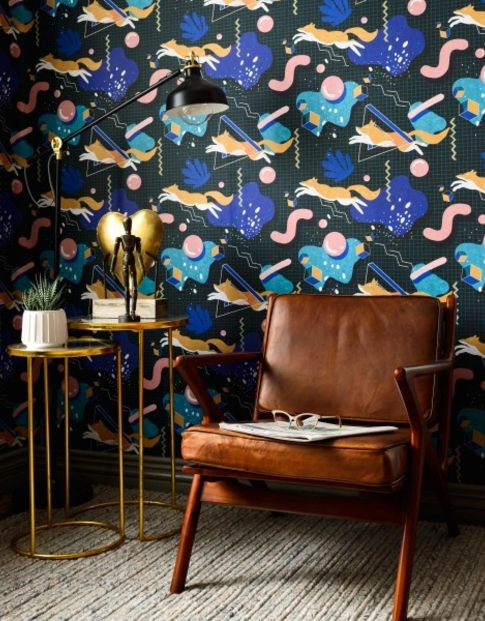 Behang Modern Foxy - 156 x 300 cm
