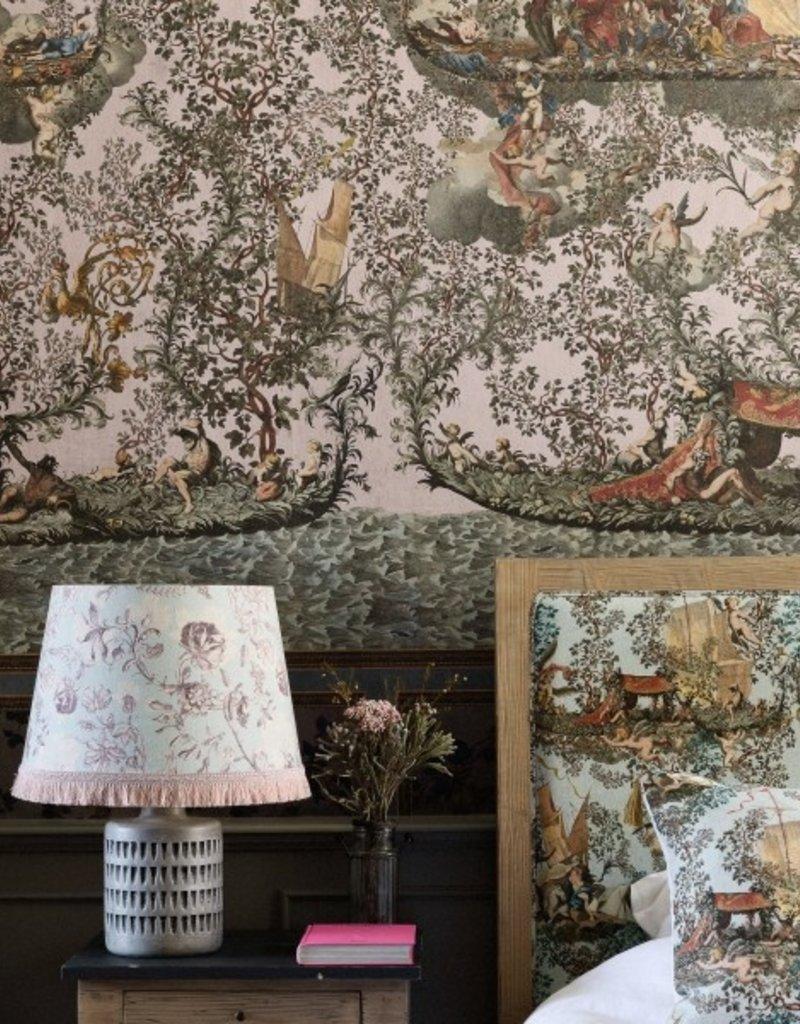 Behang Journey to Eden pink - 156 x 300 cm