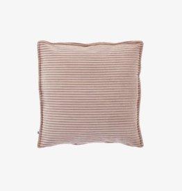 Kussensloop Soft Pink Corduroy 45 x 45 cm