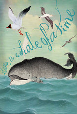 Madame Treacle Kaart 'Have a whale of a time'