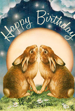 Madame Treacle Kaart 'Happy Birthday Rabbits'