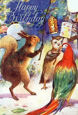 Madame Treacle Kaart 'Happy Birthday' - Lanterns