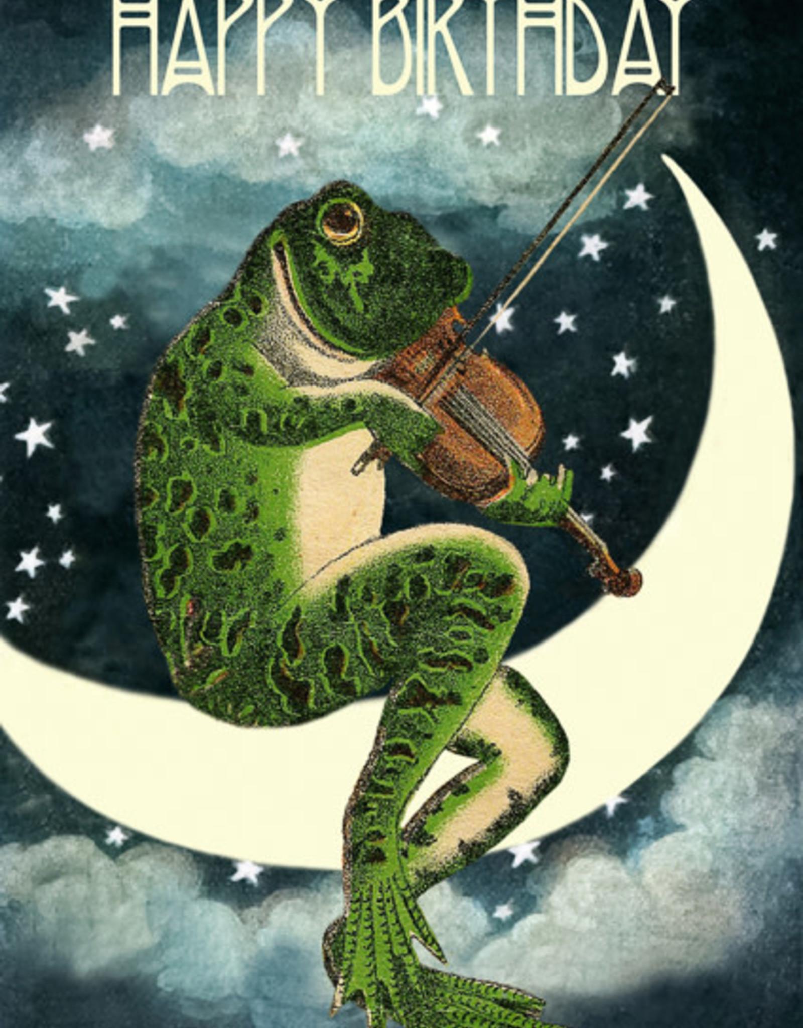 Madame Treacle Kaart 'Happy Birthday' - Frog