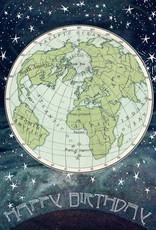 Madame Treacle Kaart 'Happy Birthday' - Globe