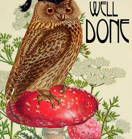 Madame Treacle Kaart groot 'Wise Owl'