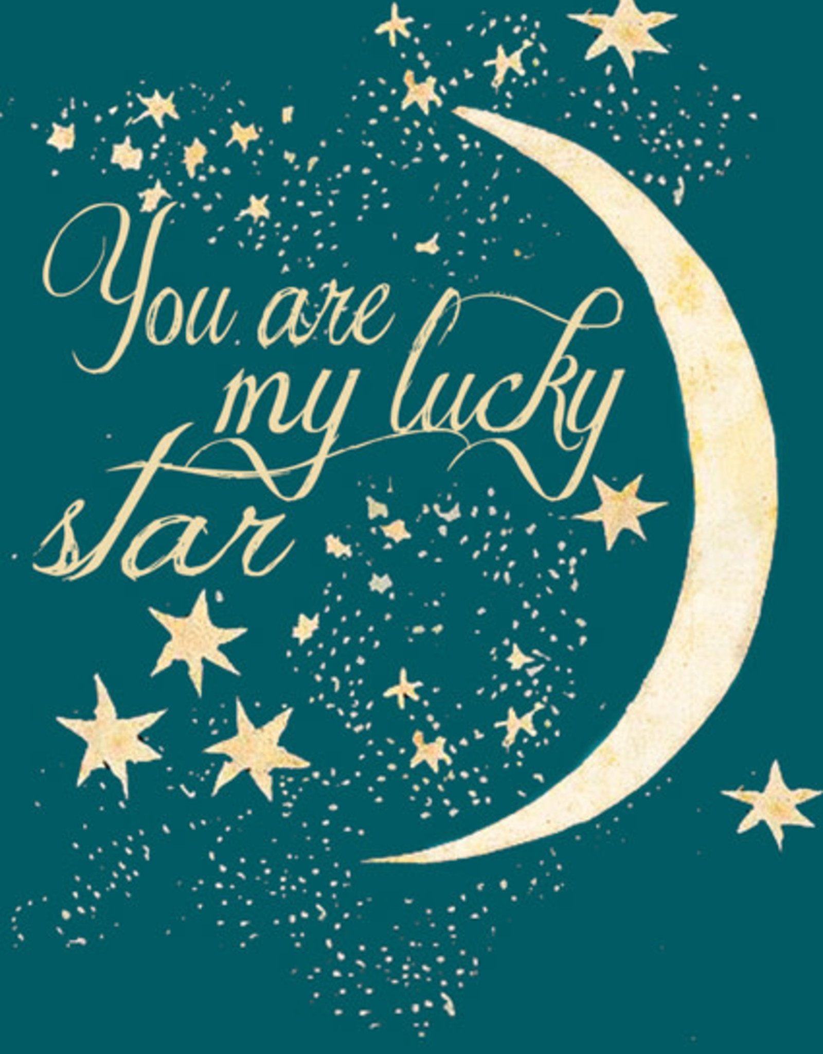 Madame Treacle Kaart groot 'Lucky star'