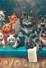 Madame Treacle Kaart vintage petite 'Cats at the opera'