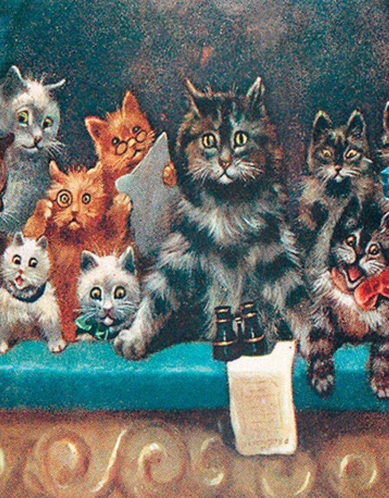 Madame Treacle Kaart vintage petite 'Cats at the opera'