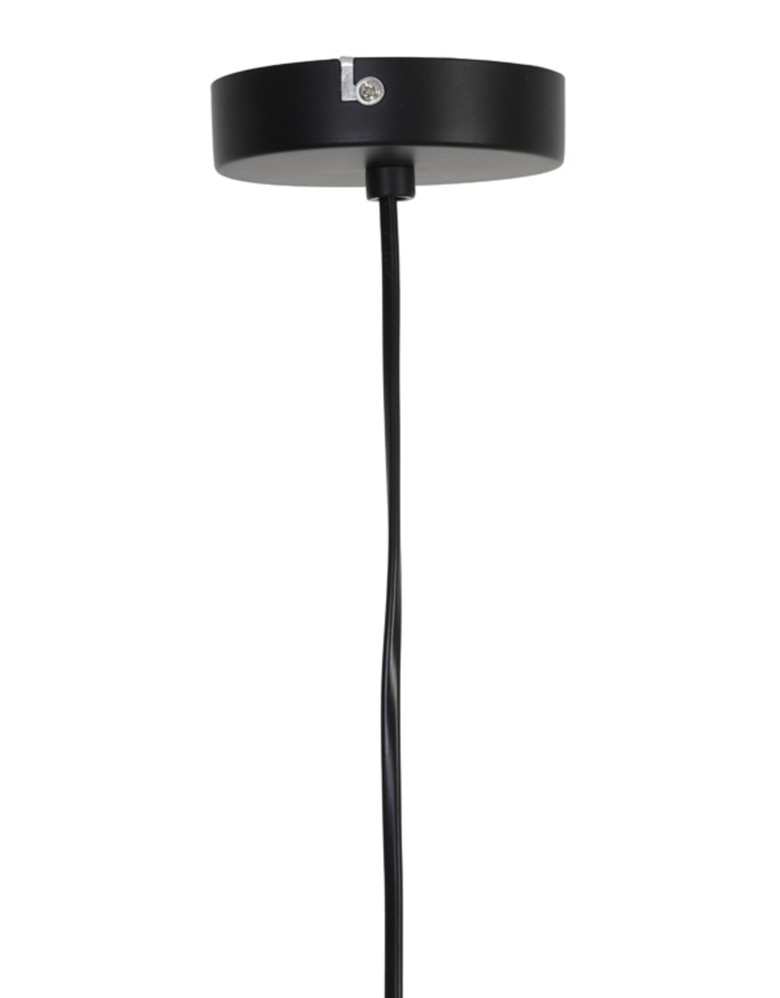 Hanglamp rotan groen Ø37 cm