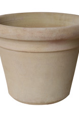 XL Terracotta cream bloempot