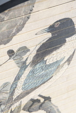 Wanddeco rond Bird Ø63 cm