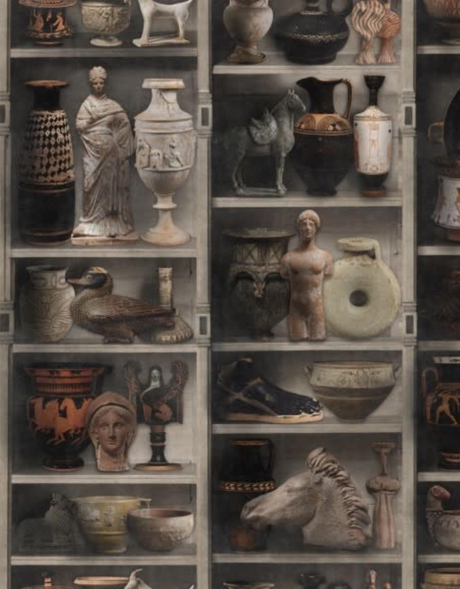 Behang Greek Pottery - 156 x 300 cm
