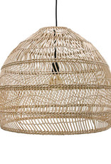 HK Living Hanglamp Wicker natural M