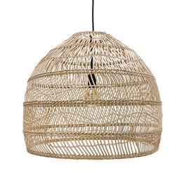 HK Living Hanglamp Wicker natural M