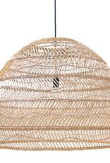 HK Living Hanglamp Wicker natural XL