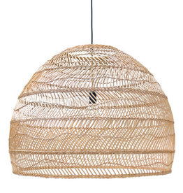 HK Living Hanglamp Wicker natural XL