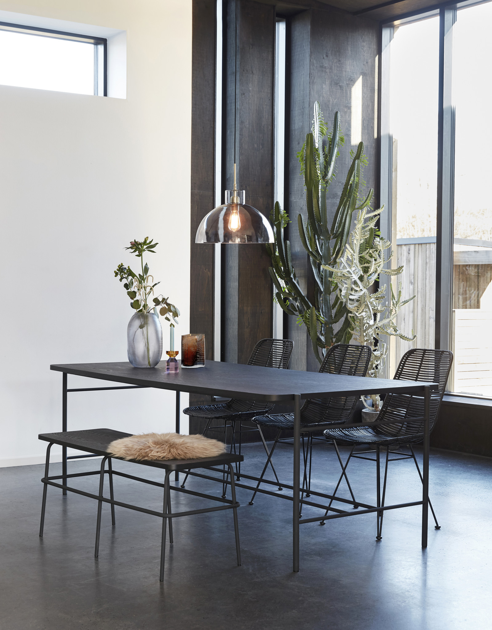 Hübsch Eettafel Fine Dining - 205 x 100 cm