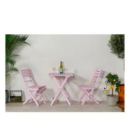Bistroset - powder pink