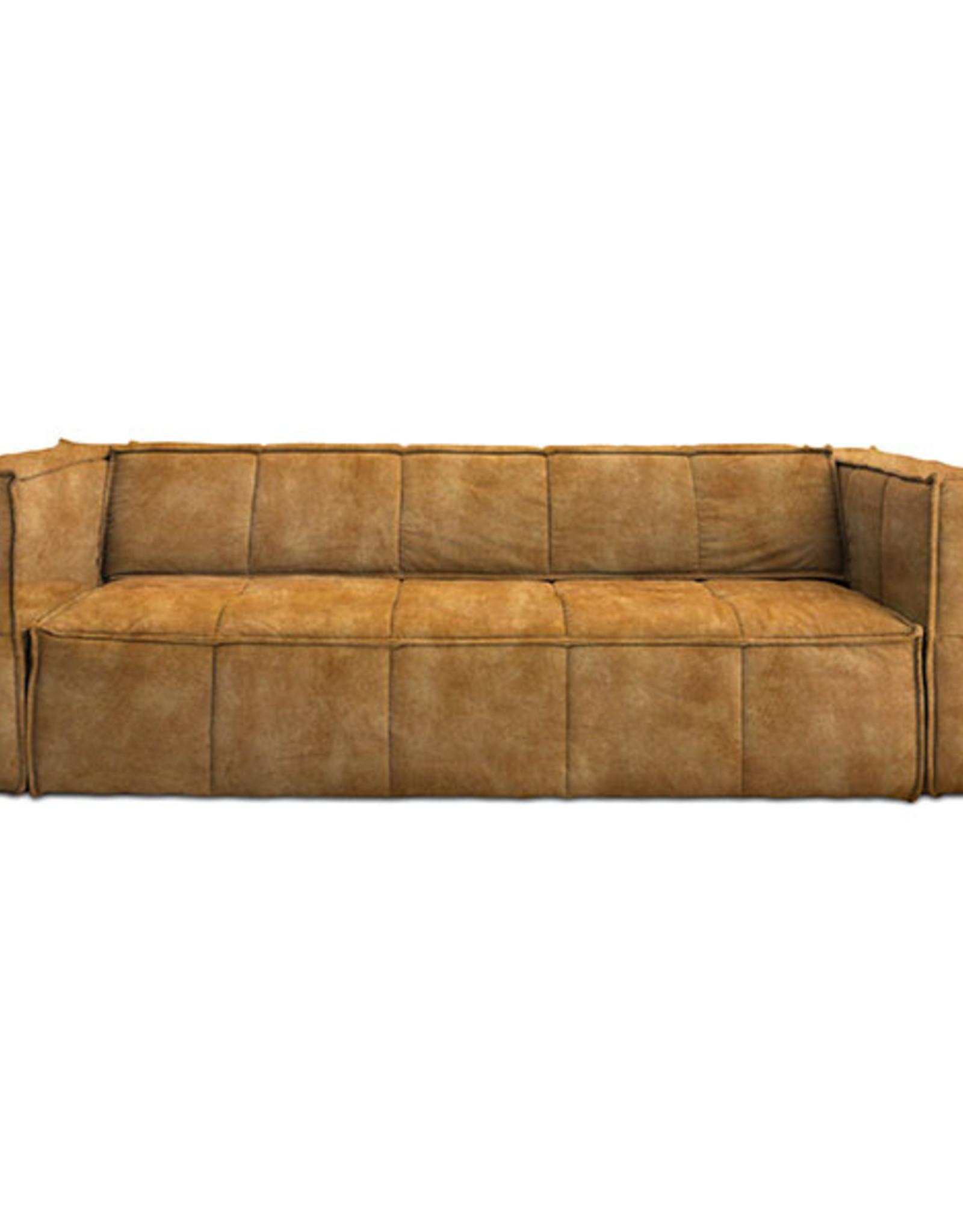 HK Living Zetel 'Cube Couch' (3 stoffen, 2 maten)