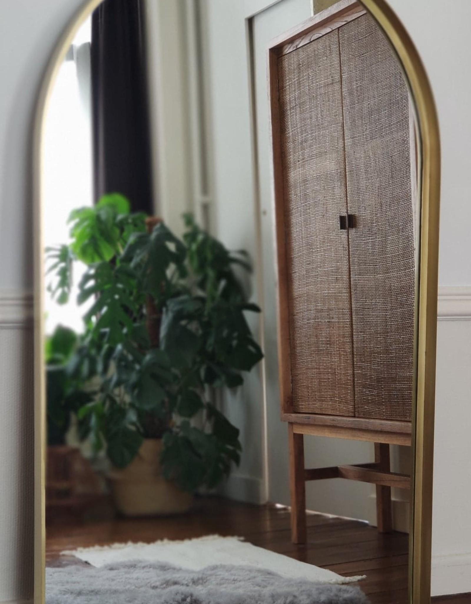 Spiegel Grond/Hangmodel brons XXL