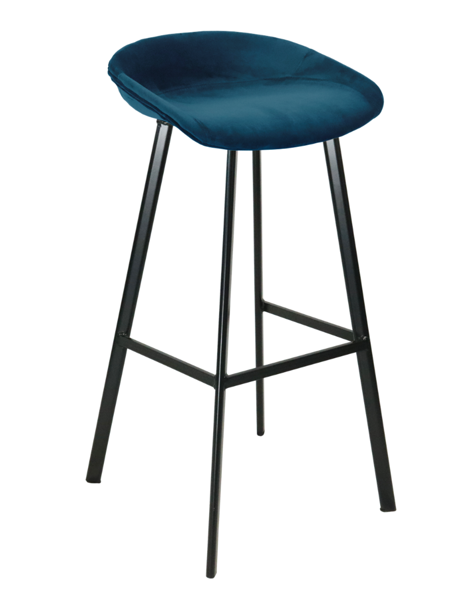 Barkruk Velvet Stool (9 kleuren, 2 hoogtes)