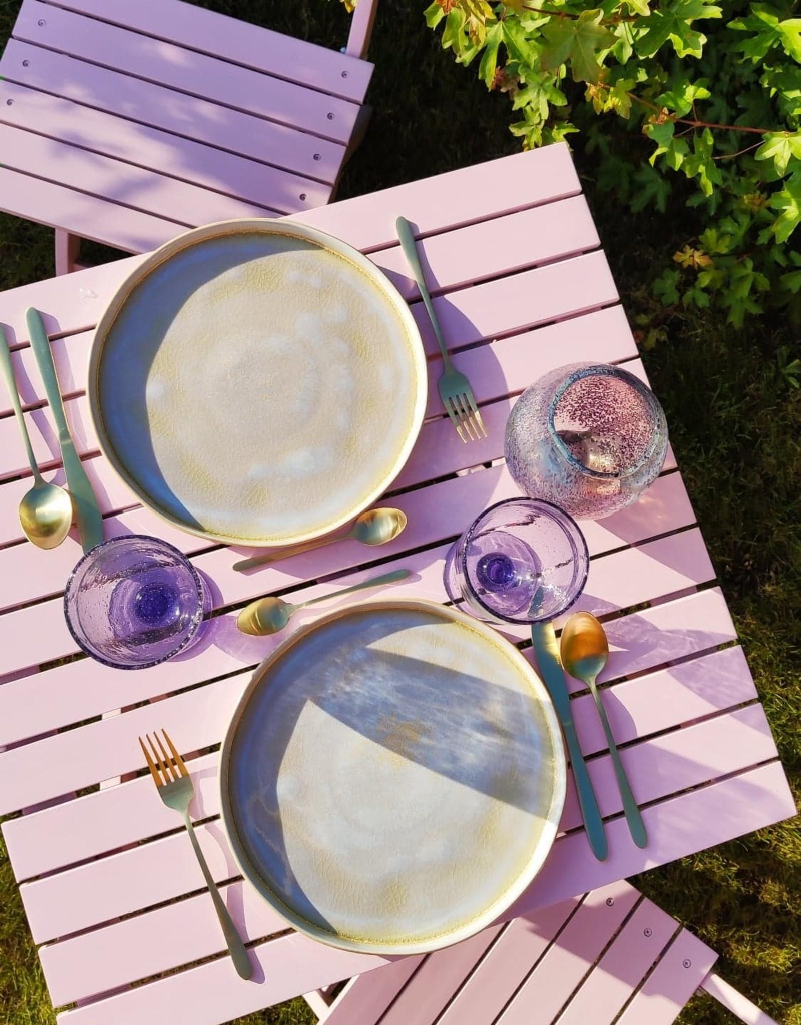 Wijnglas Purple Bubble