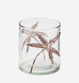 Madam Stoltz Theelichthouder Palm Tree
