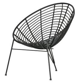 Egg chair zwart - lichte beschadiging