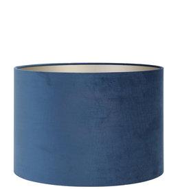 Lampenkap Velvet Petrol Blue Ø25 cm