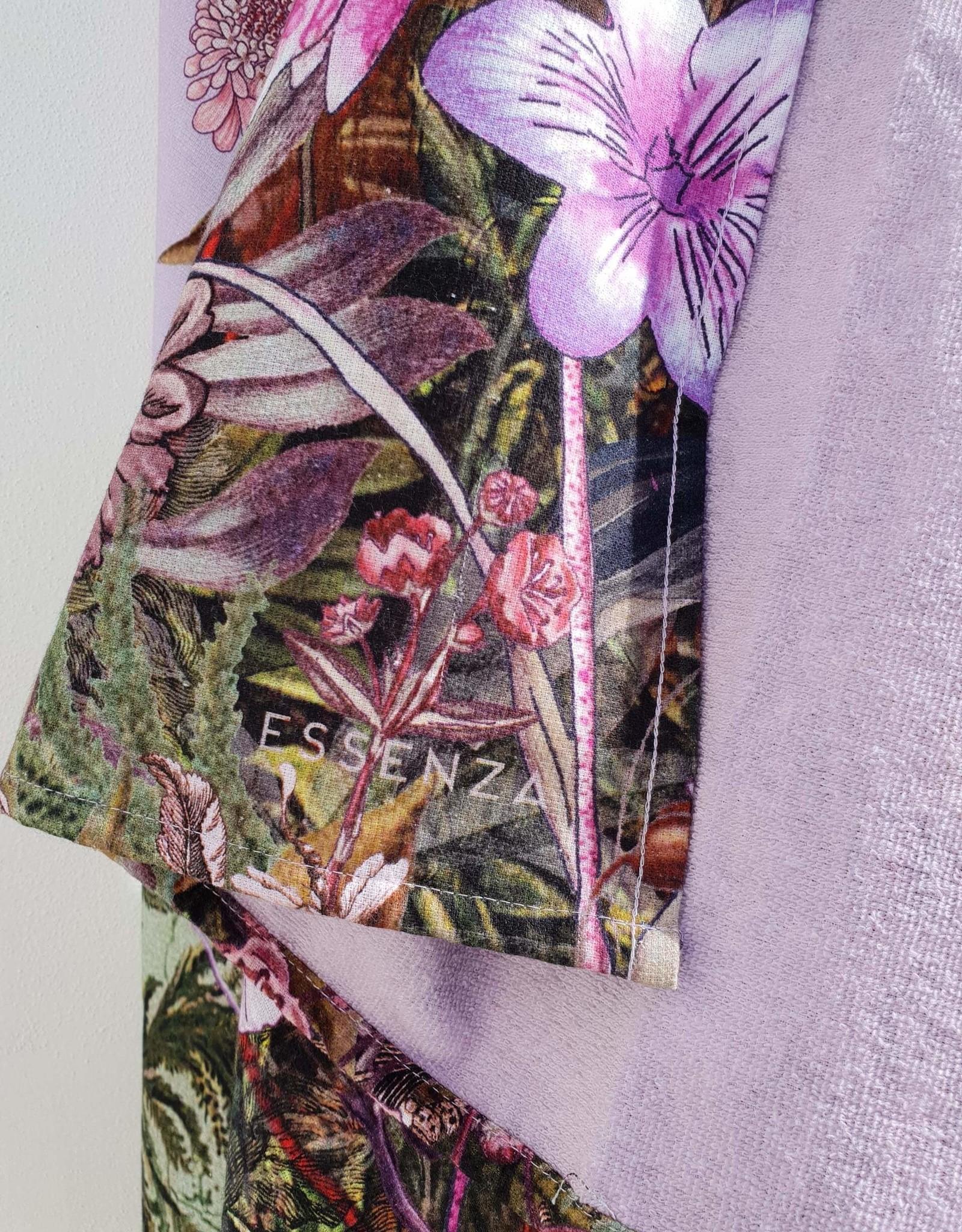 Essenza XL Strandlaken - Lilac Flowers