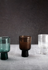 F2D Glas 25cl brown Kolon op voetje