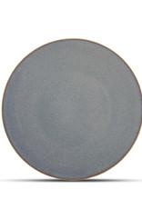Bord Ø27 cm Blue Ombre Glaze