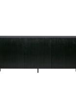 Dressoir in zwart grenenhout