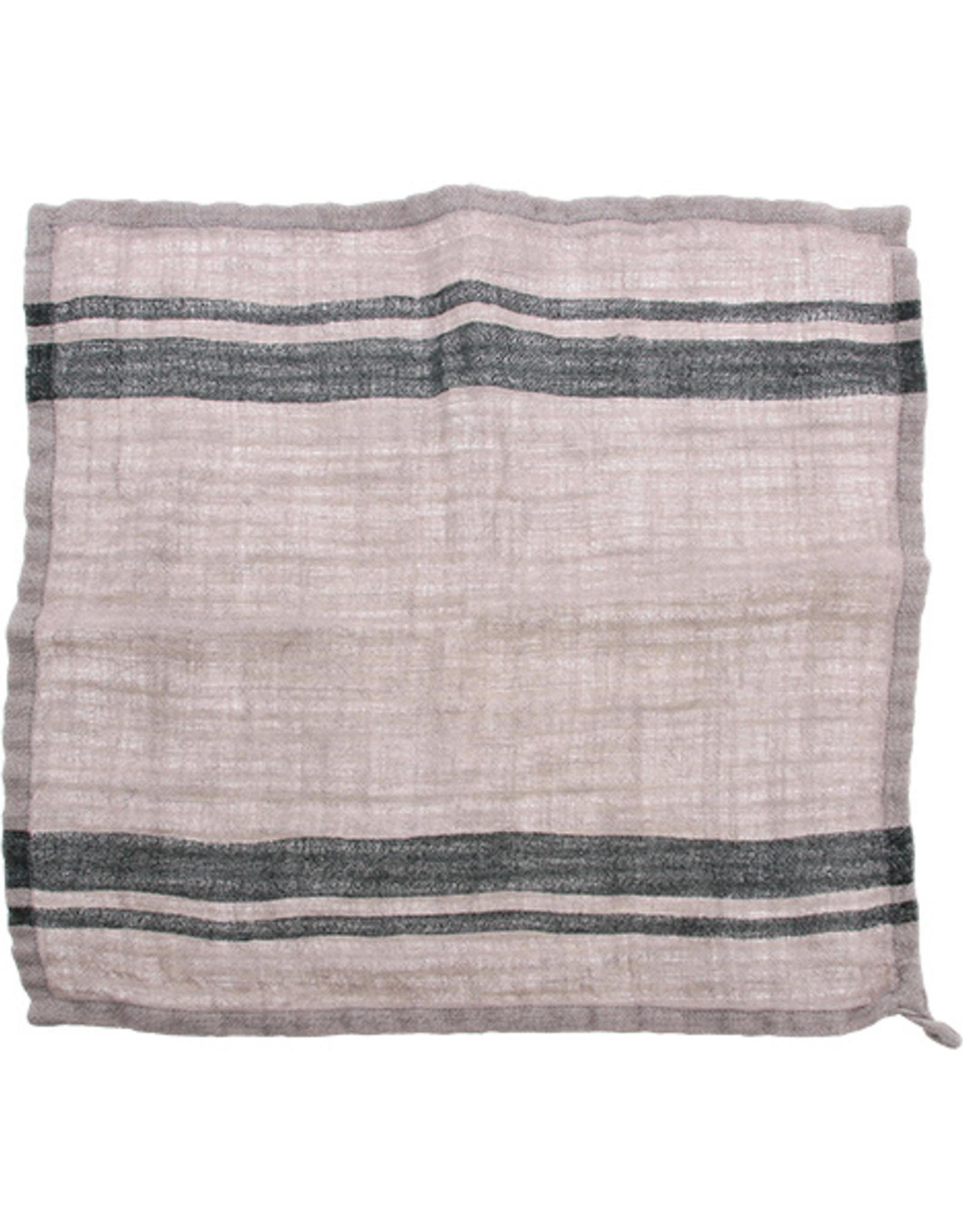 HK Living Linnen servetten Stripes - set v 2