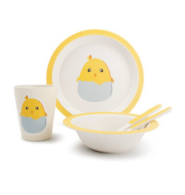 Servies Bamboo - Baby Chick