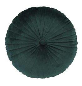 Essenza Kussen Button - forest green