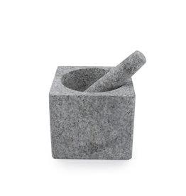 Vijzel in grijs graniet