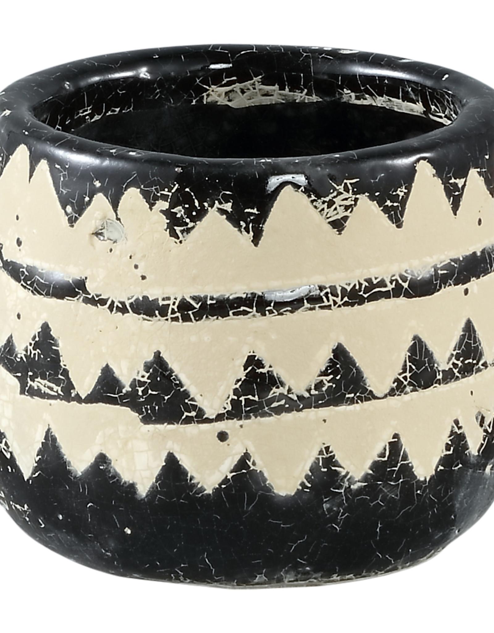 Bloempotje Aztec 12 cm